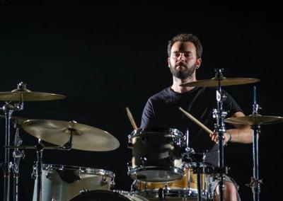 Drum, Antoine, tournage de Dragon - Bruno Férignac