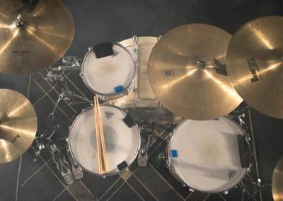 Drum, tournage de Dragon - Bruno Férignac