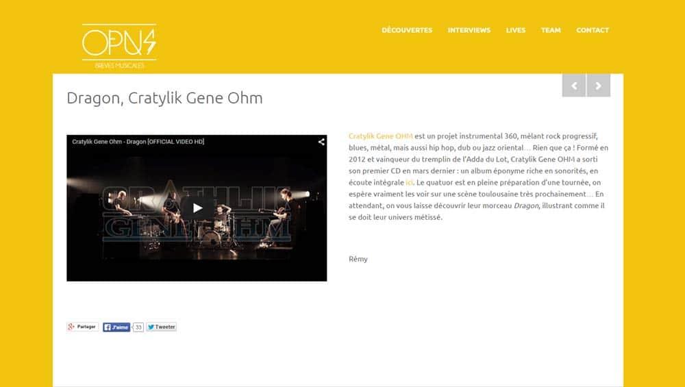 Opus Musiques - Cratylik 1000